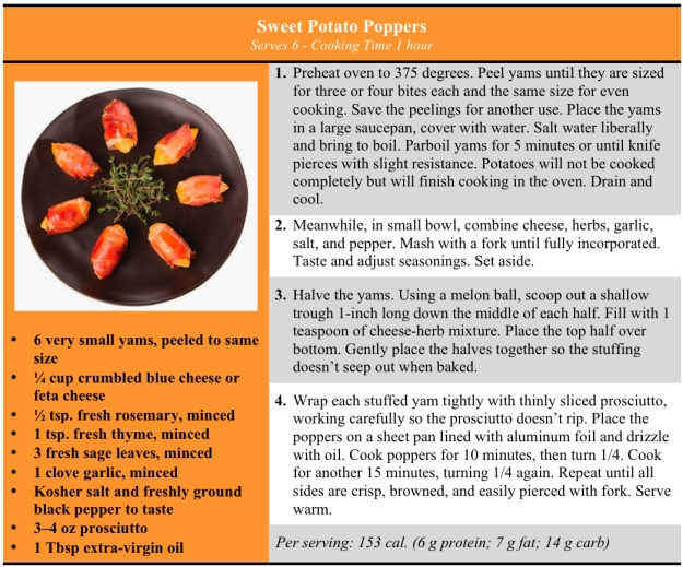 sweet potato poppers revised